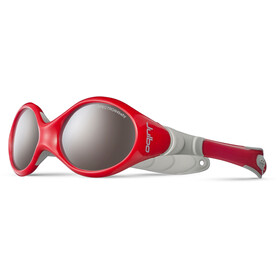 Julbo Baby Looping I Spectron 4 Sunglasses 0-18M Red/Gray-Gray Flash Silver